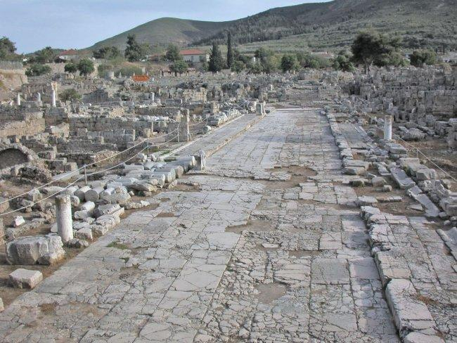 Город Коринф на Пелопоннесе