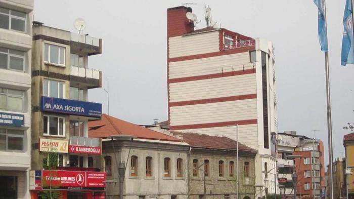 Улица в центре Трабзона