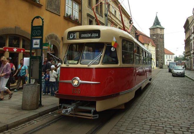 Трамвай в Пльзене