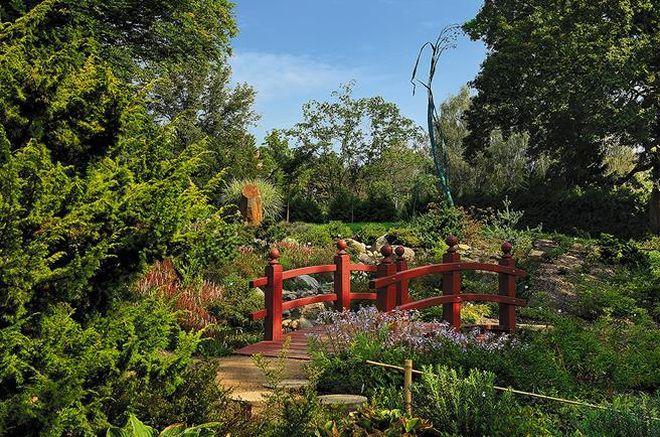 Ботанический сад в Пльзене