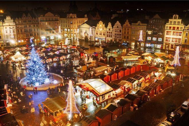 Рождественская ярмарка в Пльзене