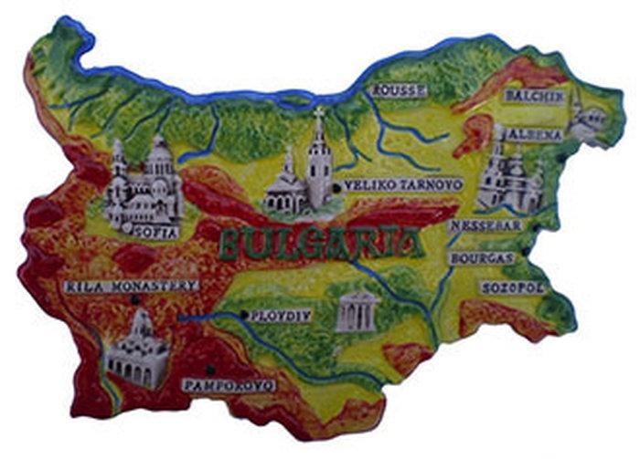 Болгарские сувениры в Софии
