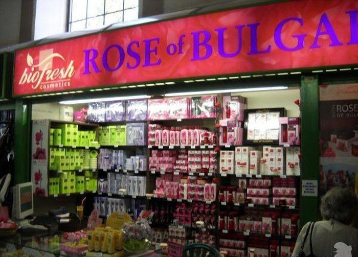 Сувениры - косметика с розовой водой