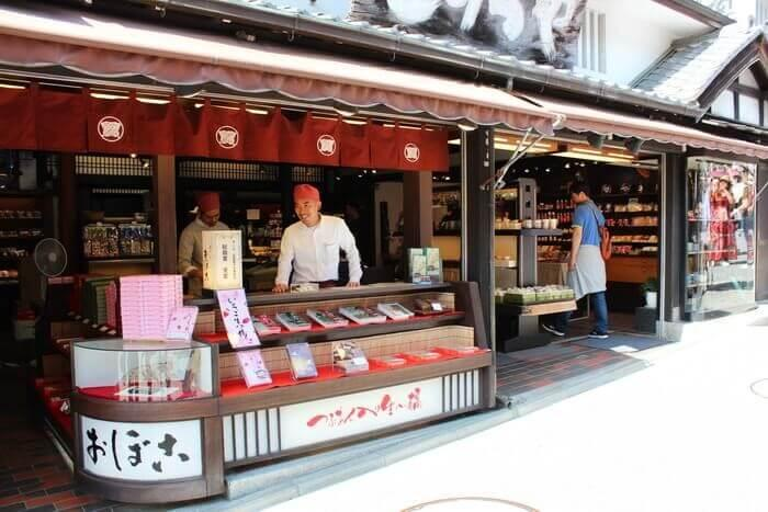 шопинг в японии