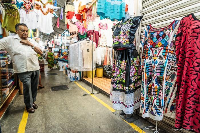 Мексика, одежда