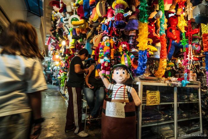 Мексика, игрушки