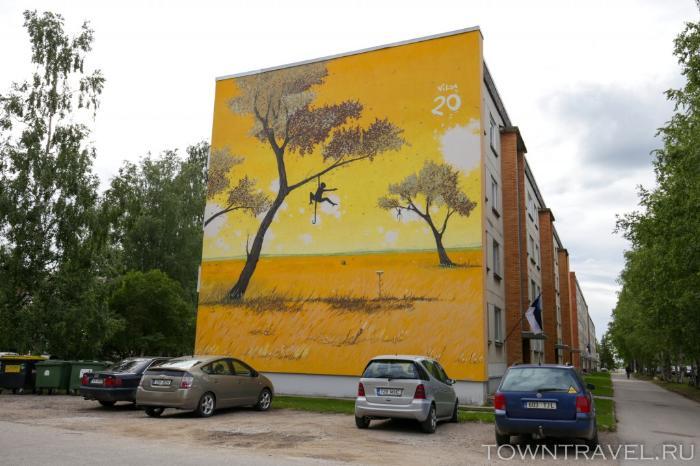 077 - Выру, граффити
