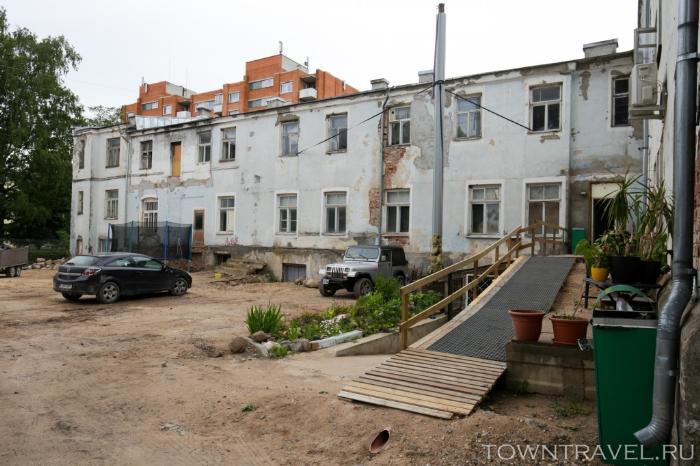 061 - улица Tartu в Выру