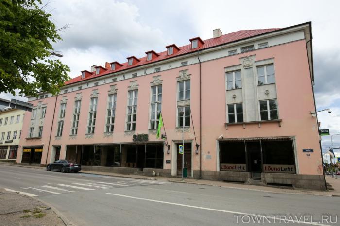 057 - улица Tartu в Выру