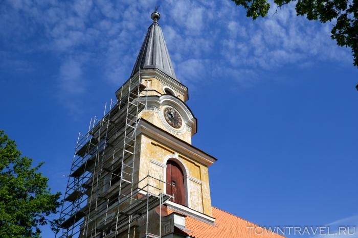 020 - Лютеранская Екатерининская церковь в Выру