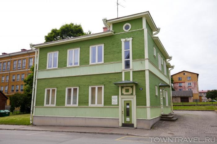069 - Улица Vabaduse в Выру