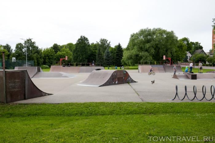 065 - скейтпарк Выру