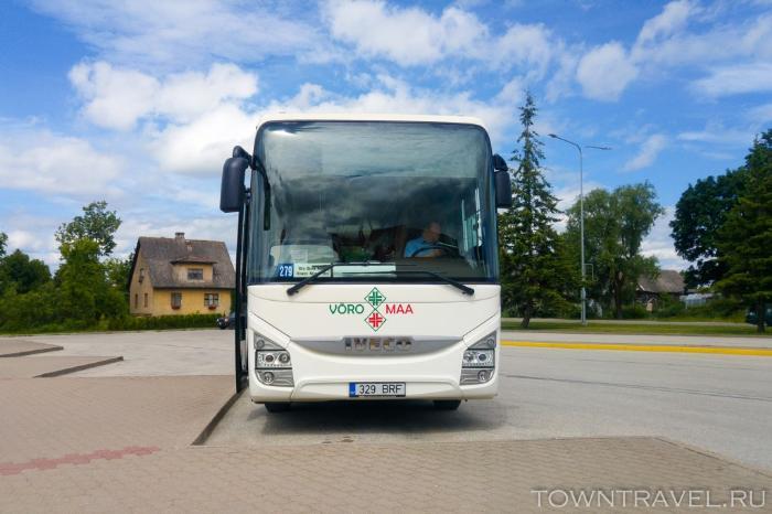 092 - автобус Выру