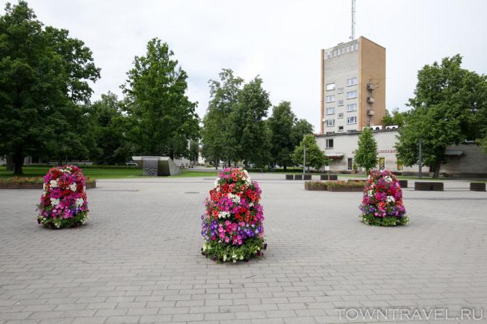070 -Центральный парк Выру