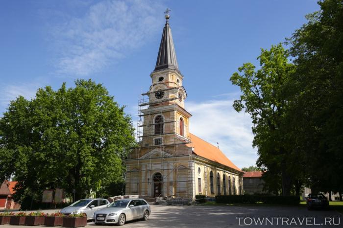 021 - Лютеранская Екатерининская церковь в Выру