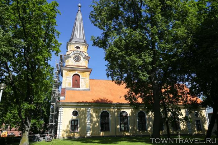 019 - Лютеранская Екатерининская церковь в Выру