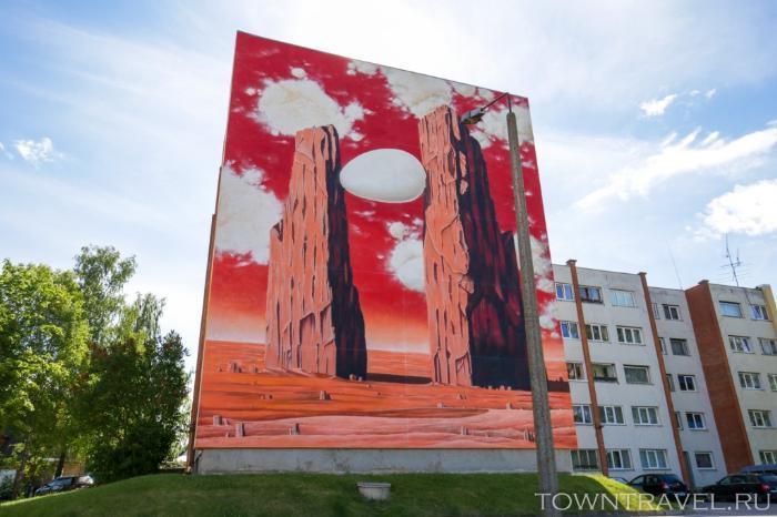 004 - автовокзал Выру, граффити