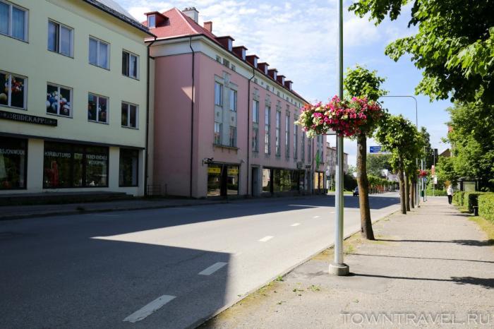 017 - улица Tartu в Выру