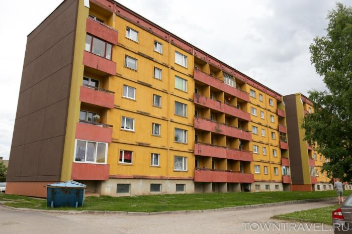 082 - жилые дома Выру