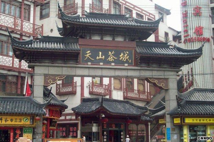 Shanghai — рынок чая