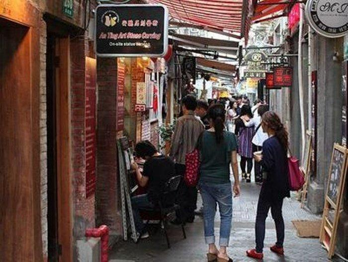 Shanghai - Улица Тайкан