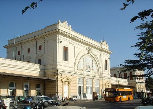 Центральный жд вокзал Ливорно