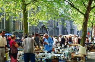 Гент - рынок Kouter