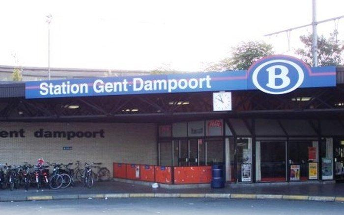 Станция Gent-dampoort