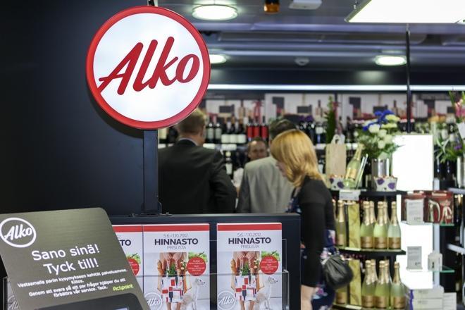 Главный финский винно-водочный магазин Alko