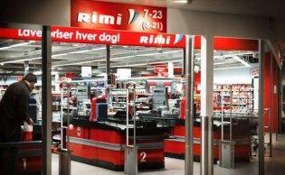 Осло - супермаркет Rimi