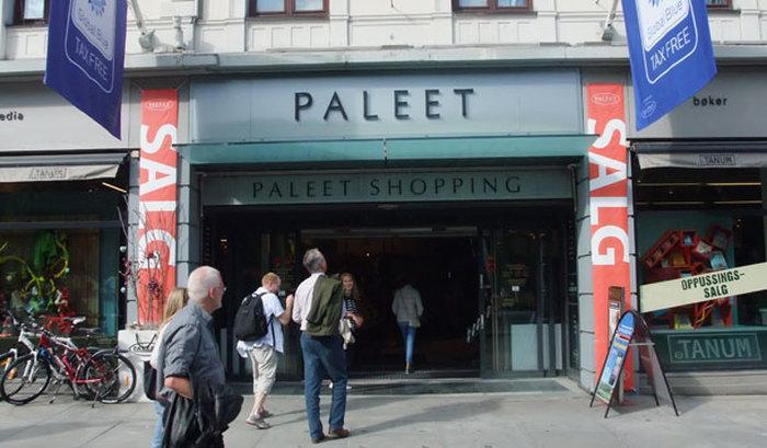 Торговый центр в Осло - Paleet