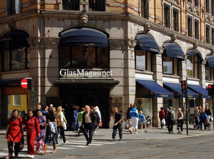 Самые популярные торговые центры Осло
