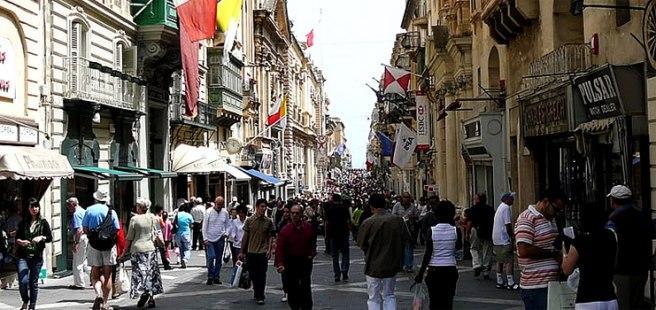 Шоппинг в Сент-Джулиансе - Мальта