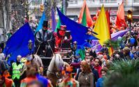Февральский карнавал в Барселоне