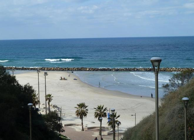 Пляжи Нетании