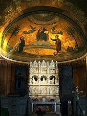 Конха с изображением золотого неба (выполнено в XIX веке)
