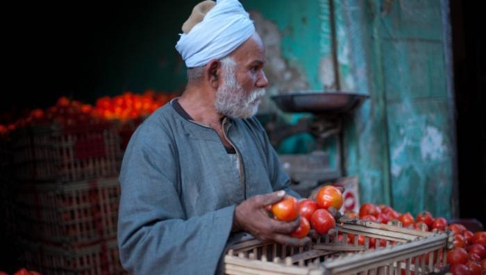 Торговец овощами