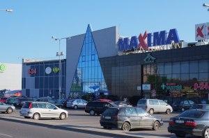 Продуктовый супермаркет MAXIMA