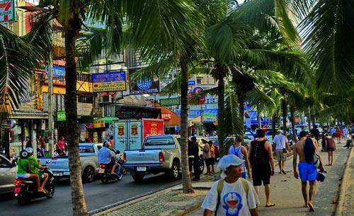 Pattaya road