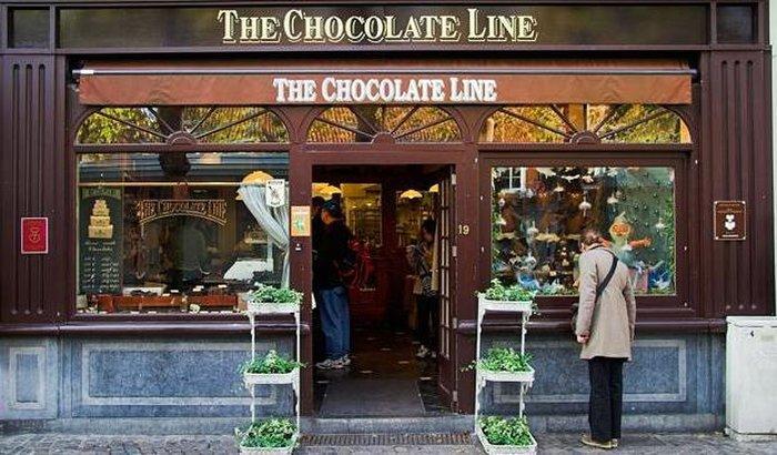 Магазины шоколада в Бельгии