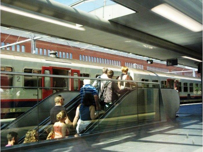 Железнодорожный вокзал Брюгге