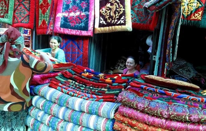 шоппинг в киргизии ковры