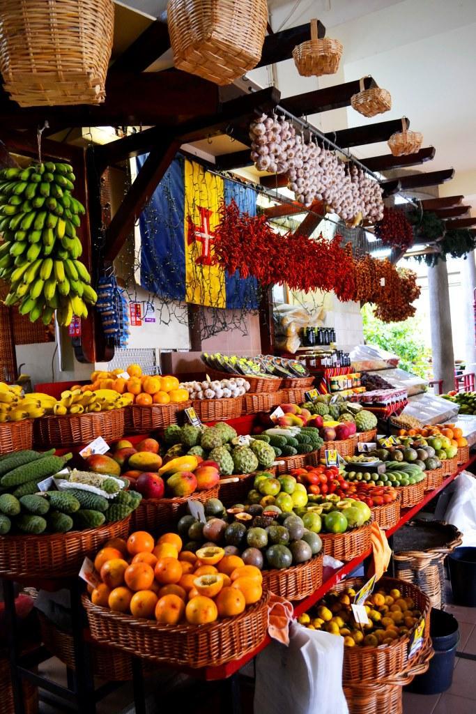 Фуншал Мадейра центральный рынок 1