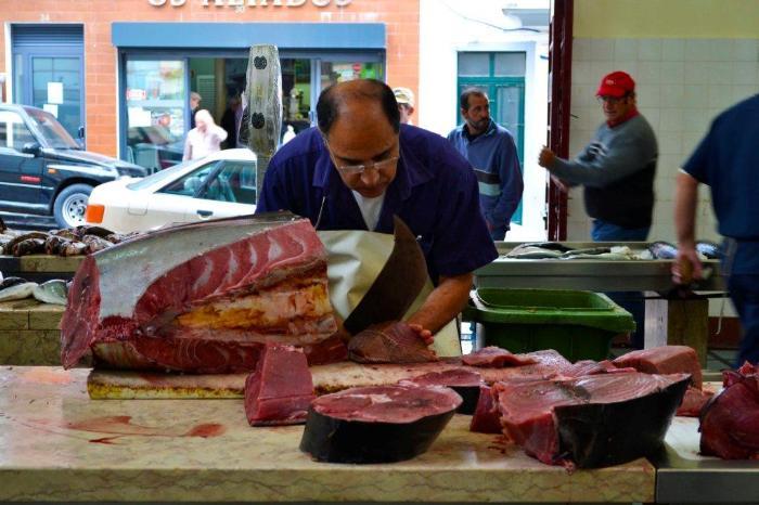 Фуншал Мадейра центральный рынок