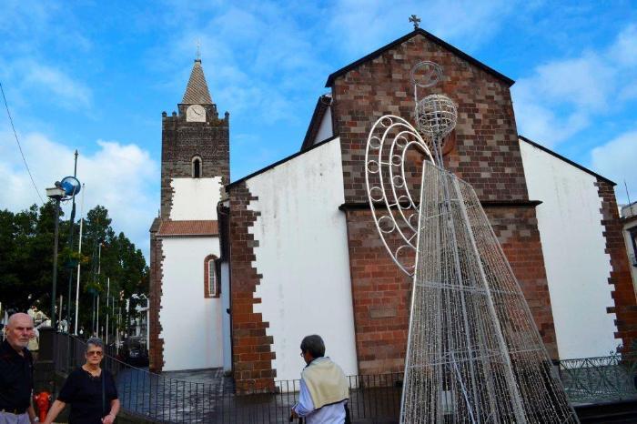 Фуншал Мадейра церковь