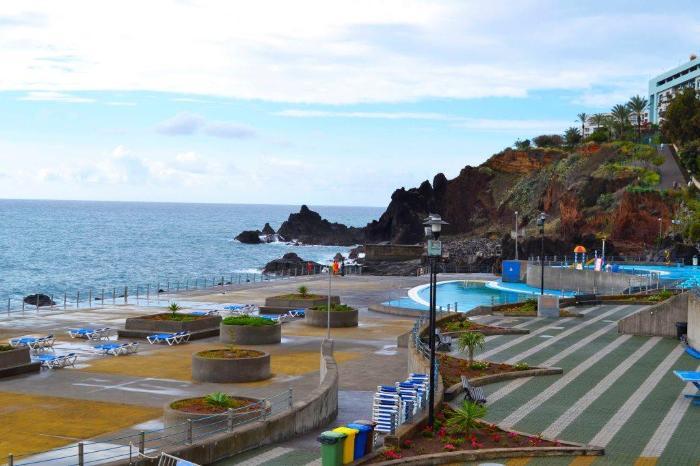 Фуншал Мадейра где купаться