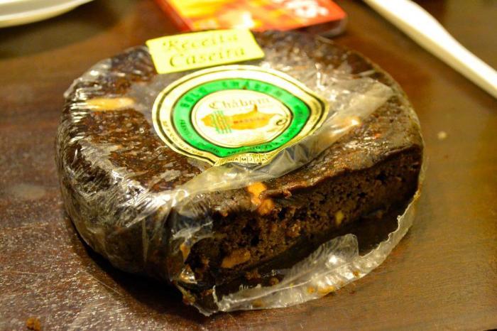 Фуншал Мадейра местный десерт