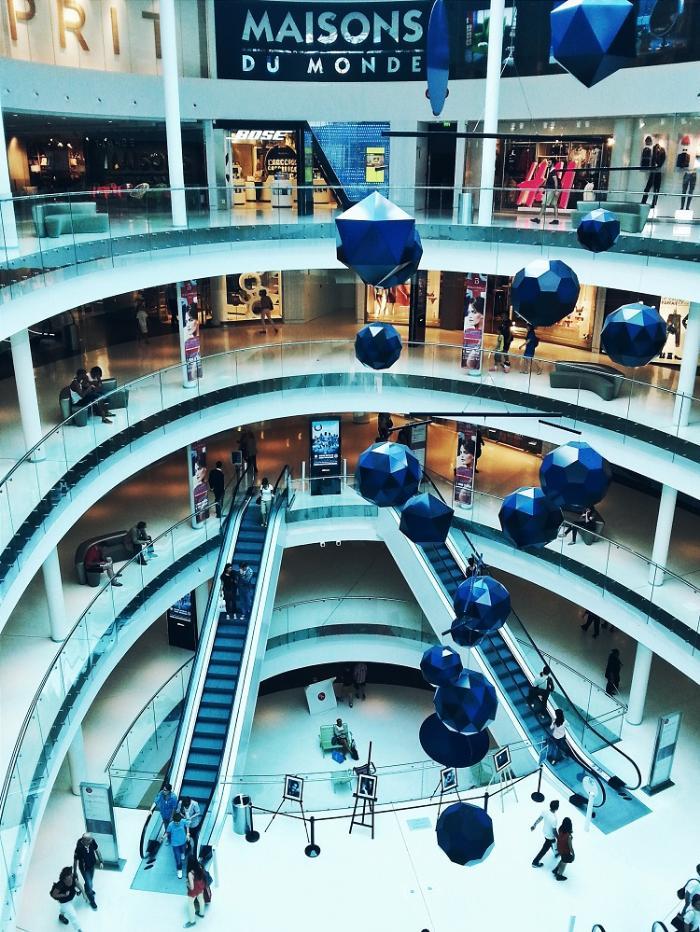 Торговые центры Париж