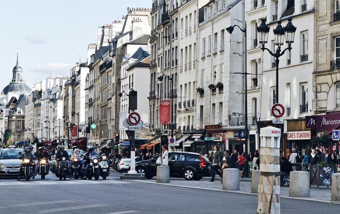 Шопинг променады Париж