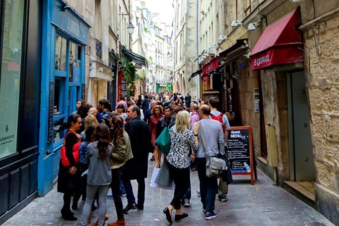 Популярные шоппинг улицы, магазины и торговые центры Франции
